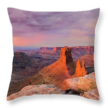 Throw Pillows Magnolia : Marlboro Point, Utah Photograph by Henk Meijer Photography