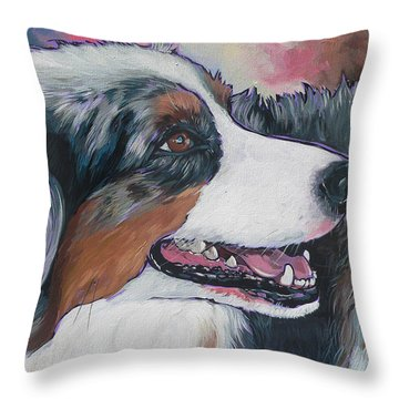 Marley Throw Pillow by Nadi Spencer