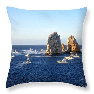 Marlin Fishing Tournament 1 Throw Pillow