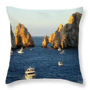 Marlin Fishing Tournament 3 Throw Pillow