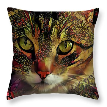 Marmalade In The Morning Throw Pillow