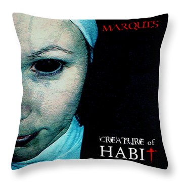 Marquis - Creature Of Habit Throw Pillow