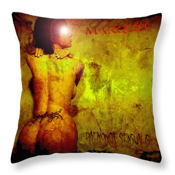 Marquis - Daemonica Sensualis Throw Pillow