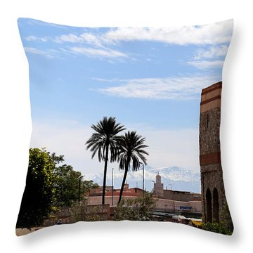 Throw Pillow featuring the photograph Marrakech 2 by Andrew Fare