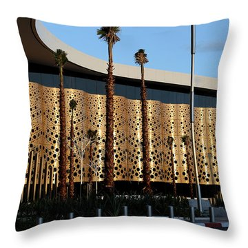 Throw Pillow featuring the photograph Marrakech Airport 1 by Andrew Fare