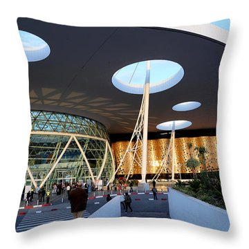 Throw Pillow featuring the photograph Marrakech Airport 2 by Andrew Fare