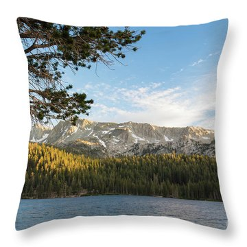 Marry Lake  Throw Pillow