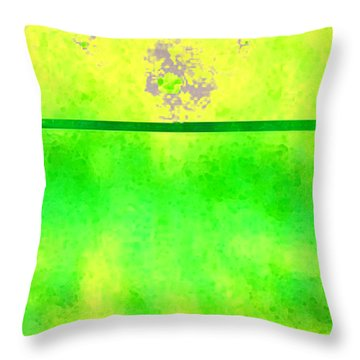 Mars And Europa Throw Pillow