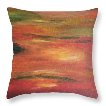 Mars Landing Throw Pillow