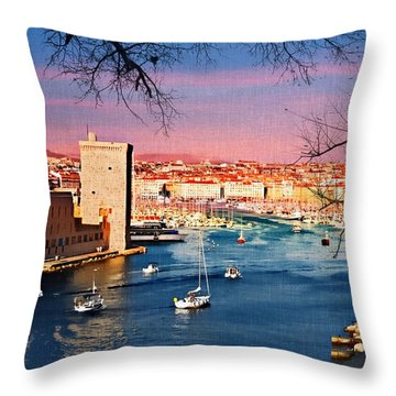 Marseille Throw Pillow