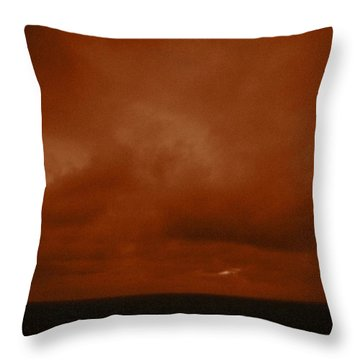 Marshall Islands Area Throw Pillow