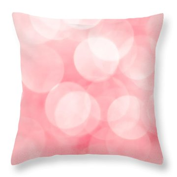 Throw Pillow featuring the photograph Marshmallow by Jan Bickerton