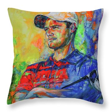 Martin Kaymer Throw Pillow
