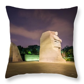 Martin Luther King Jr. Memorial Throw Pillow