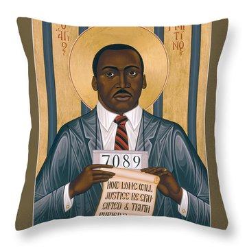 Martin Luther King Of Georgia  - Rlmlk Throw Pillow
