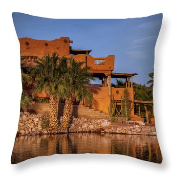 Martinez Lake Throw Pillow