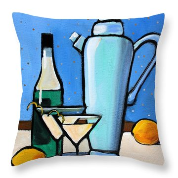 Martini Night Throw Pillow