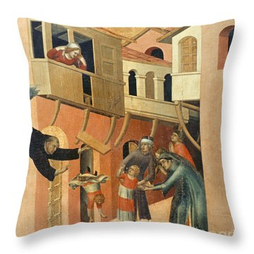 Martini: St. Augustine Throw Pillow by Granger