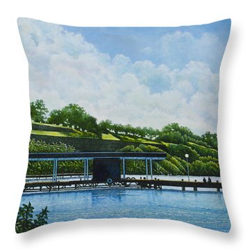 Martinique Throw Pillow
