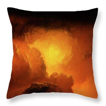 Marvelous Clouds Throw Pillow