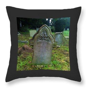 Mary Ann Throw Pillow by Anne Kotan
