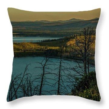 Mary Bay At Dawn Throw Pillow
