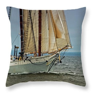 Mary Day 2 Throw Pillow