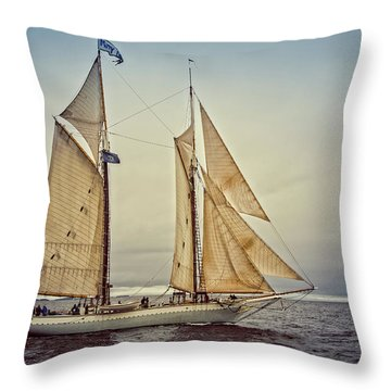 Mary Day 3 Throw Pillow
