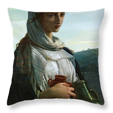 Mary Madgalen Throw Pillow