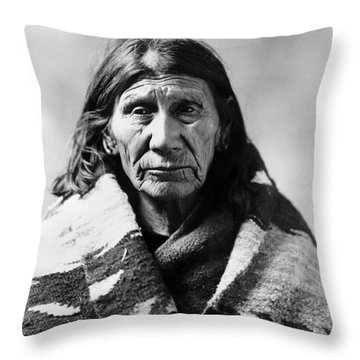 Mary Red Cloud, C1900 Throw Pillow by Granger
