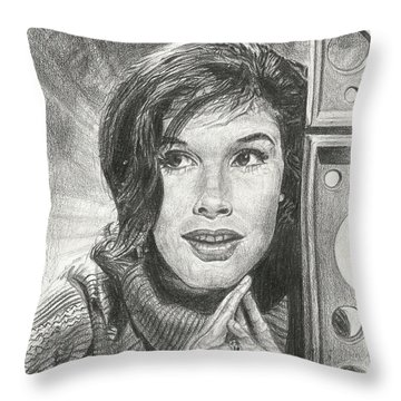 Mary Tyler Moore Throw Pillow