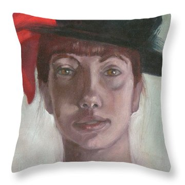 Mary Virginia Throw Pillow
