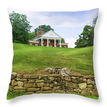 Throw Pillow featuring the photograph Marye's House by John M Bailey
