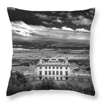 Maryhill In Monochrome Throw Pillow