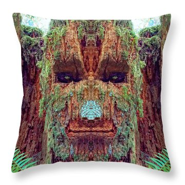 Marymere Mossman Throw Pillow by Martin Konopacki