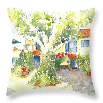 Mas St Antoine 2 Throw Pillow