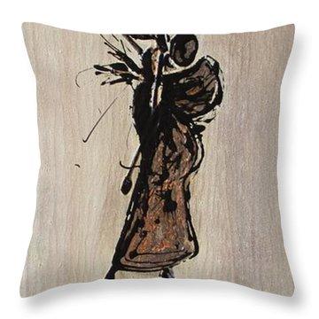 Masai Family - Part 1 Throw Pillow