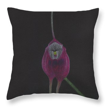 Masdevallia Infracta Orchid Throw Pillow