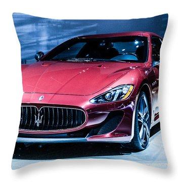 Maserati Throw Pillow