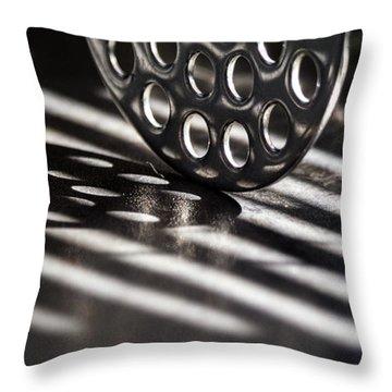 Masher Shadows Throw Pillow