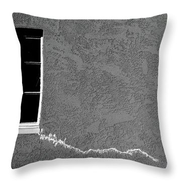 Throw Pillow featuring the photograph Masonic Window by CML Brown