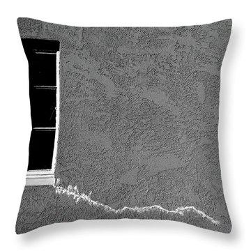Masonic Window Throw Pillow by CML Brown