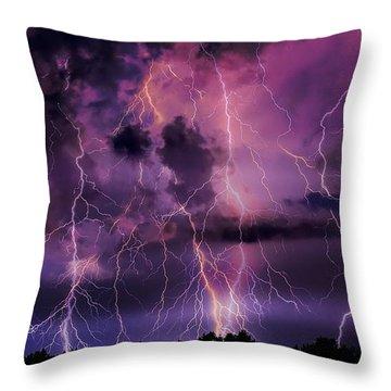 Massive Attack Throw Pillow