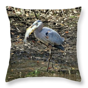 Massive Meal Throw Pillow by Al Powell Photography USA