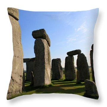 Massive Stones Throw Pillow by Kamil Swiatek