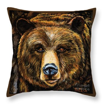 Master Throw Pillow