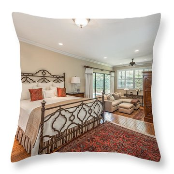 Master Suite Throw Pillow