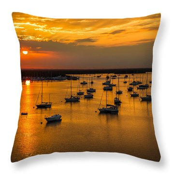 Matanzas Harbor Throw Pillow