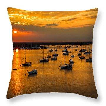 Matanzas Harbor Throw Pillow