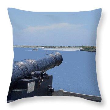 Matanzas Inlet Throw Pillow by Kenneth Albin